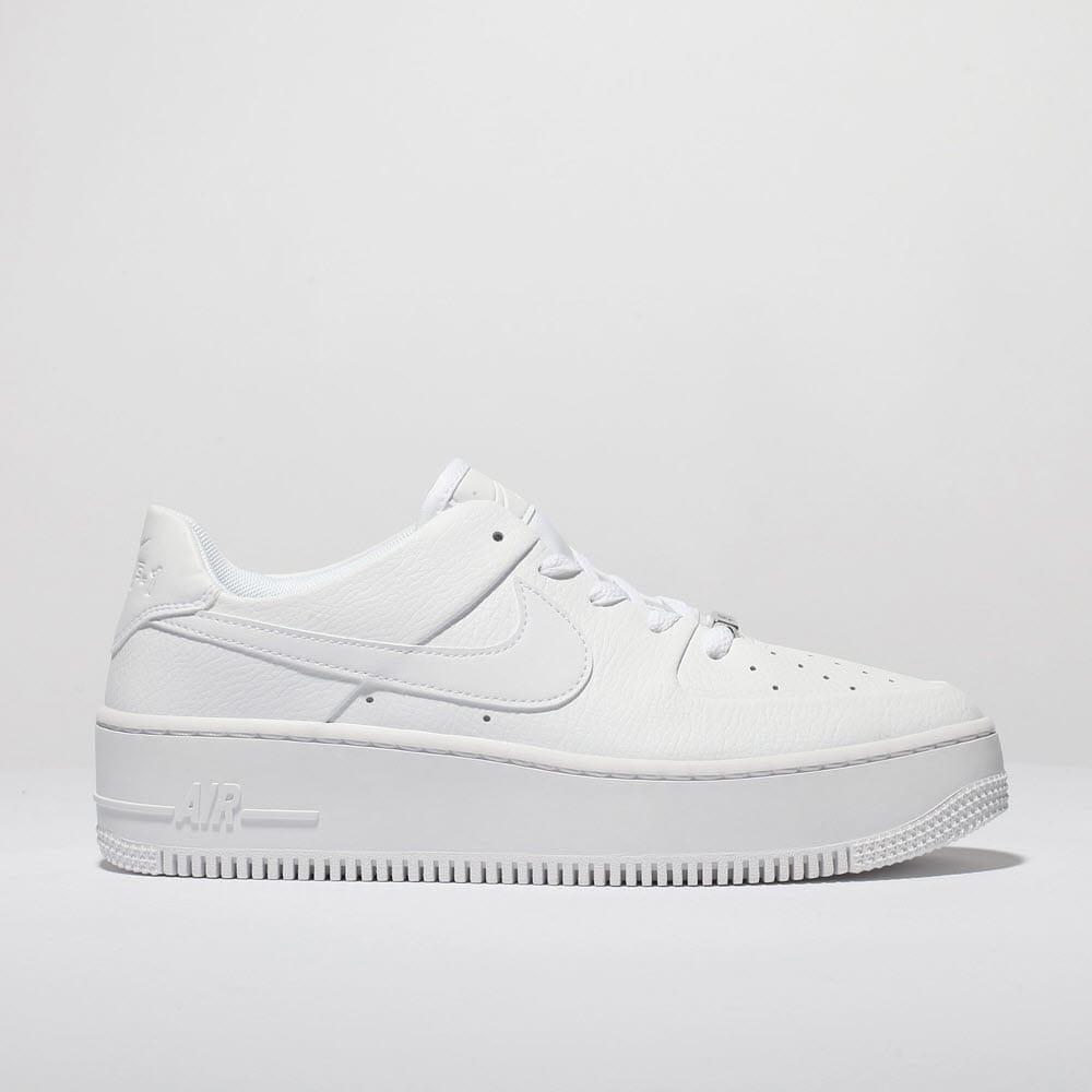nike air force 1 all white