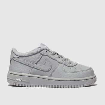 all grey air force ones