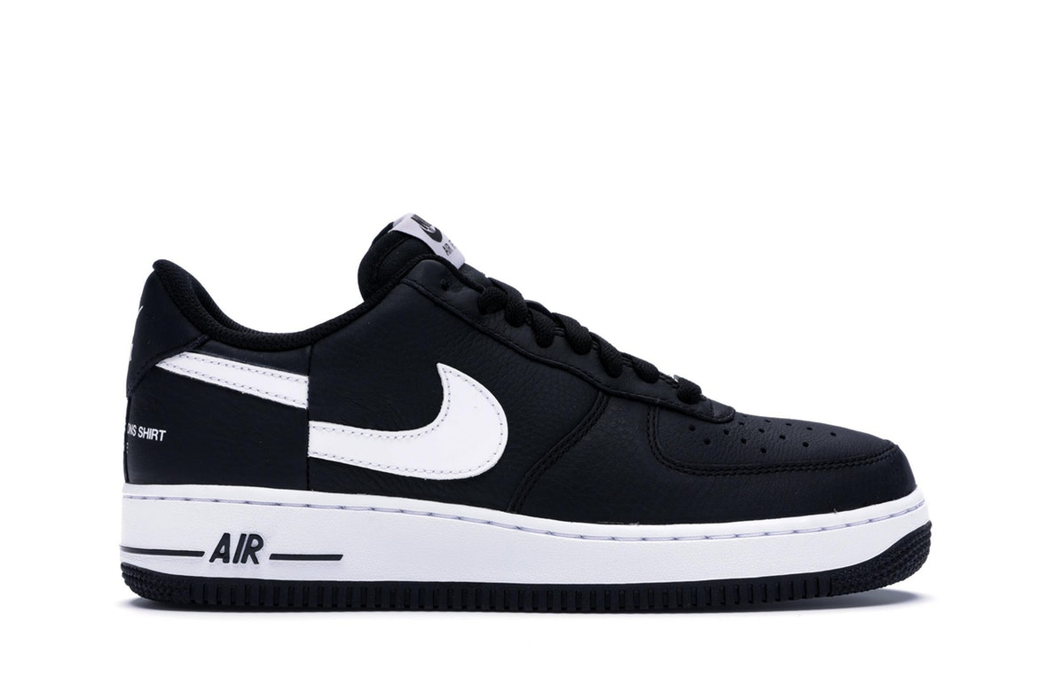 nike air force 1 low black and white