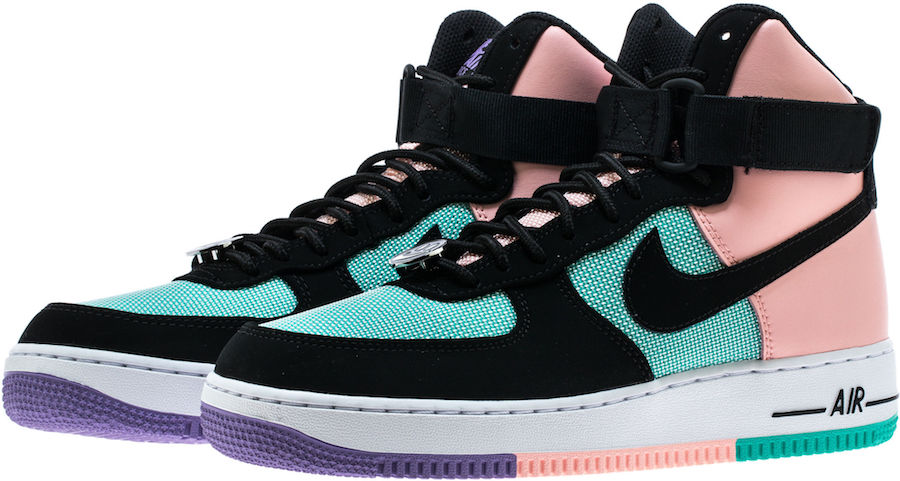 Nike Air Force 1 High fuxia