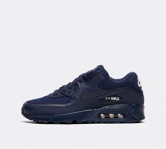 nike air max 90 blue and black