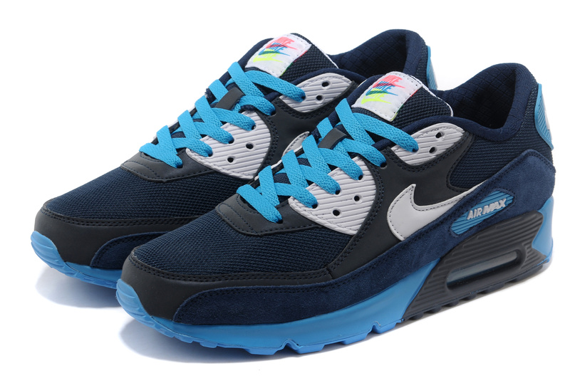 nike air max 90 mens blue