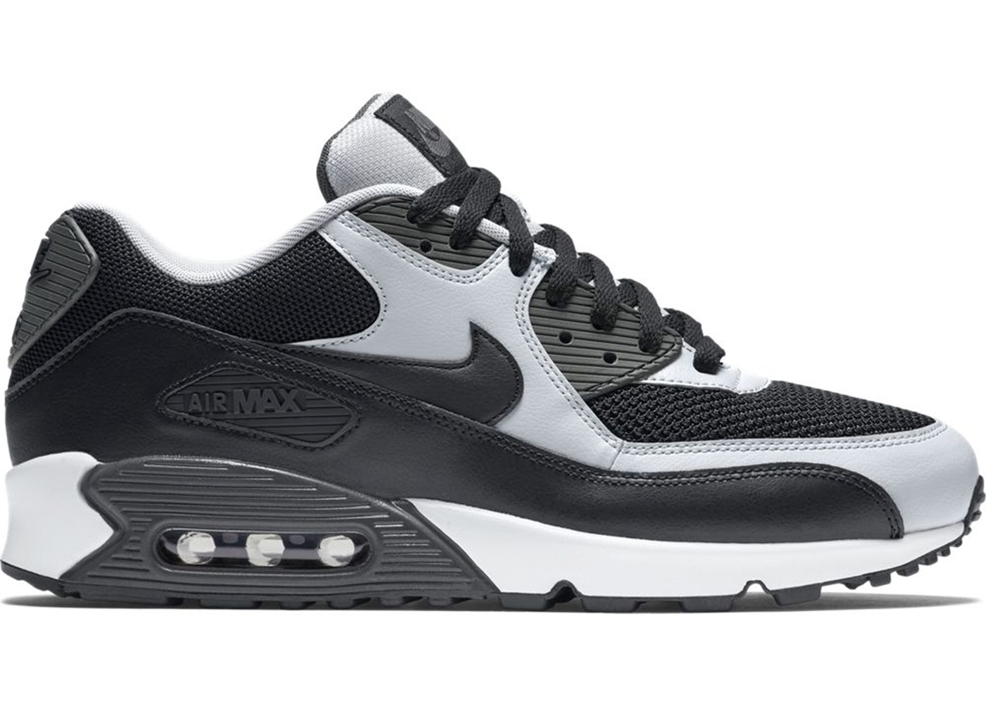 nike air max black and grey
