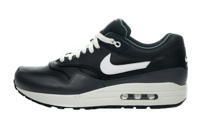 nike air max black leather