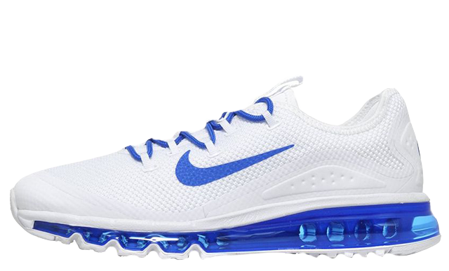 nike air max blue and white
